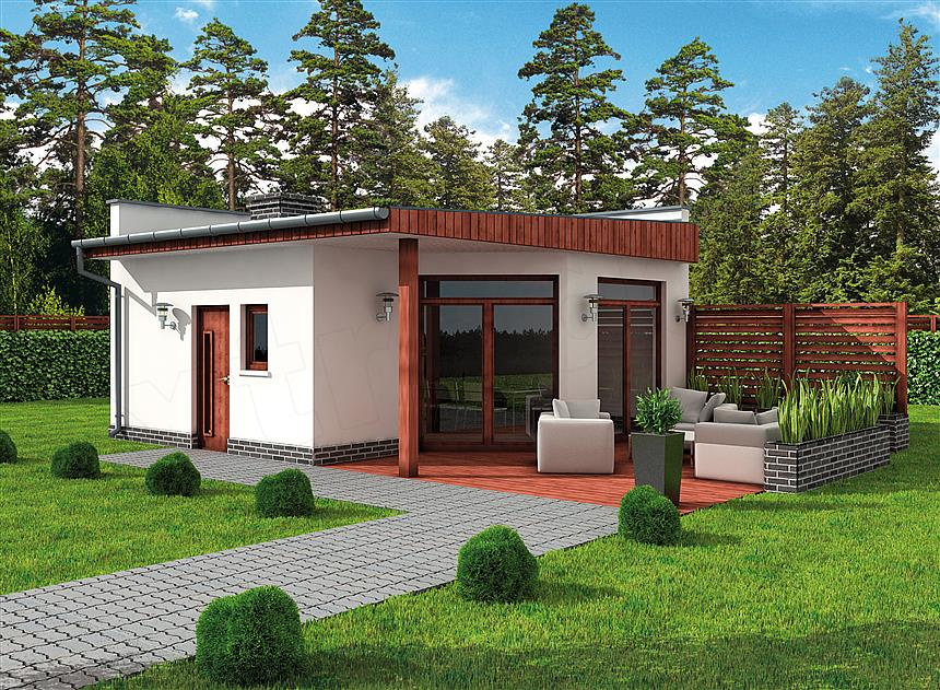Projekt Domu Kl9 Kuchnia Letnia Bud Gospodarczy 31 33 M2