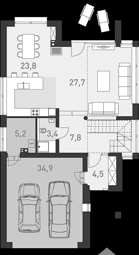 Projekt Domu Z Charakterem 3a 135 4 M2 Inspiracje Pl